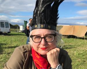 Sharon Macarthur director of miss menopause
