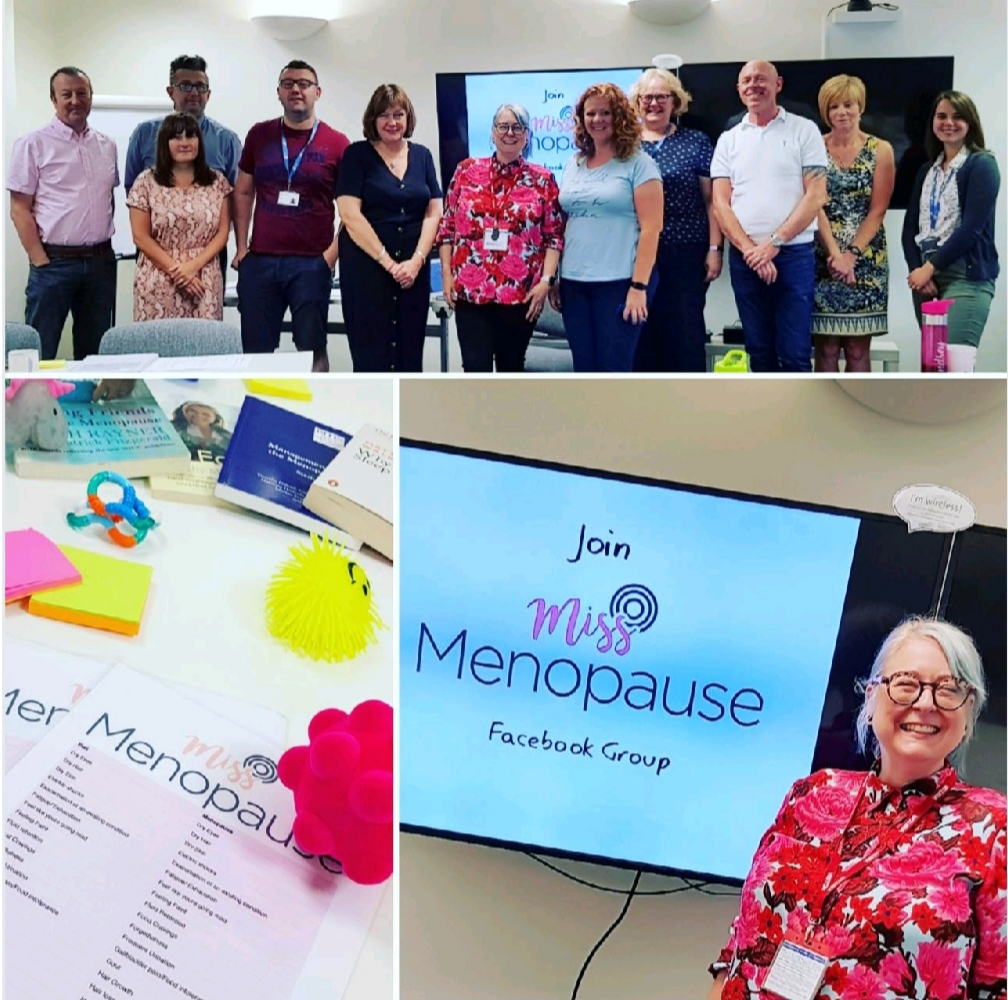 Miss menopause: a year in the life of a menopause educator
